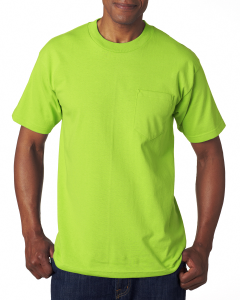 Bayside Adult Adult Short-Sleeve Tee with Pocket