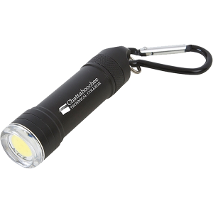 Pull Apart COB Flashlight Key Chain