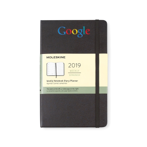 Moleskine® Hardcover Large 12-Month Weekly 2019 Planner