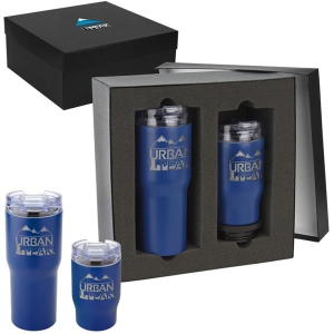 Urban Peak® Trail Gift Set (20oz/3-in-1 Tumbler)